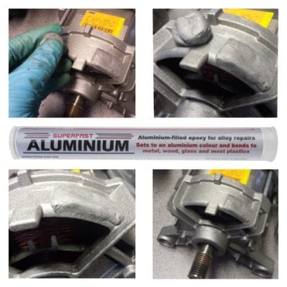 Superfast Aluminium Stick for the fast and permanent repair of anything made of aluminium