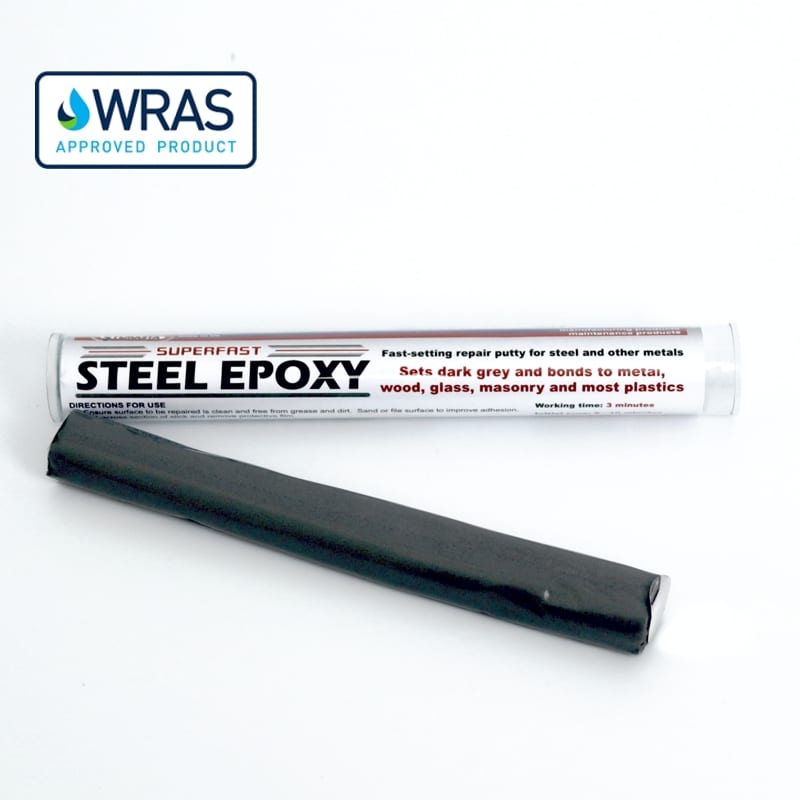 Superfast Steel Epoxy Putty Repair Stick