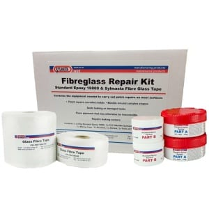 The Sylmasta Pipe Repair Kit contains all the products needed to carry out multiple patch repair to tanks, vessels and pipework