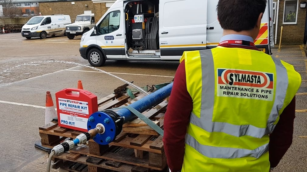 The Sylmasta Pipe Repair Roadshow is taking pipe repair technology into utility services across the United Kingdom