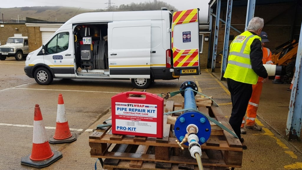 The Sylmasta Roadshow is taking pipe repair technology into companies around the United Kingdom