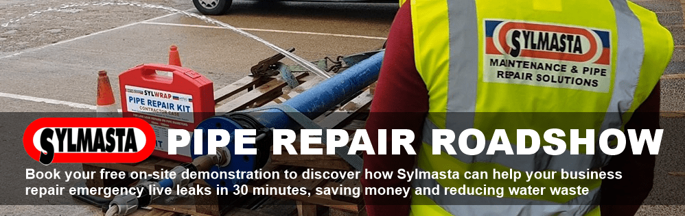 The Sylmasta Pipe Repair roadshow is showing businesses across the United Kingdom how they can benefit from SylWrap pipe repair technology