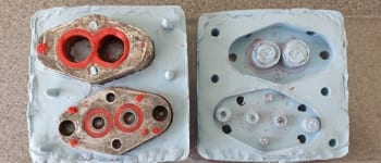 Sylmasta casting and moulding products are used to create high-quality resin casts of machine parts
