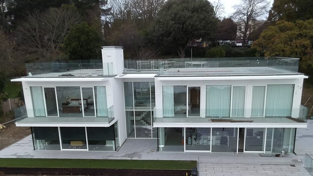 A residential property in Essex required a flexible expansion joint filler to eliminate drips from a roof terrace onto a balcony below